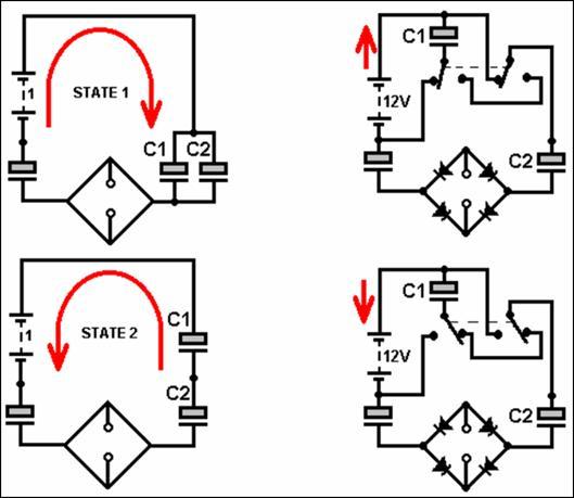 Схема циркулятора-рекуператора