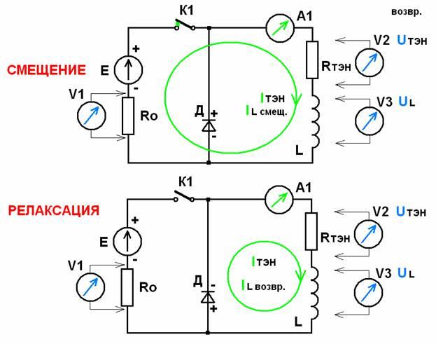 Схемы электрической цепи с